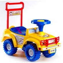 Odrážedlo auto Jeep Yupee žluté, od 12 do 35 měsíců 00313961