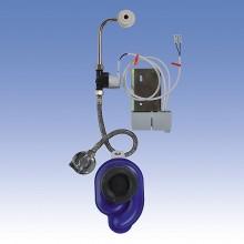 SANELA Radarový splachovač SLP 36RZ na liště pro pisoár GOLF s integrov. zdrojem 01365