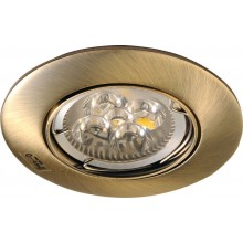 Sapho LUTO podhledové bodové svítidlo, průměr 85 mm, Max 50W, 12V, bronz 02584