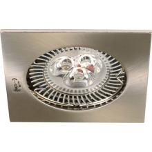 Sapho NAVI podhledové bodové svítidlo, 81x81 mm, Max 50W, 12V, bronz 04693