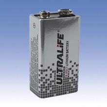 SANELA Napájecí lithiová baterie SLA 09 9V/1200 mAh, typ U9VL-J-P 06090