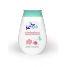 LINTEO BABY Dětské mycí mléko a šampón s měsíčkem lékařským 250 ml 1032 PO EXPIRACI
