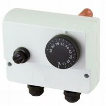 REGULUS TS95H30.01 provozní termostat na jímku 0-90°C,hav.fix 100°C, čidla 6,5x100mm 10771