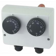 REGULUS TS9530.07 termostat na jímku, dvojitý, 0-60/30-120°C 10782