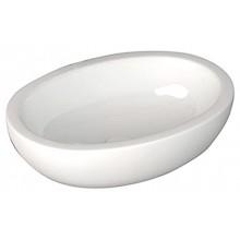 SAPHO SISTEMA keramické umyvadlo oválné bez přepadu 60x42cm, bílá 10AR65060