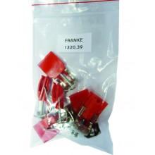 Franke příchytky - sada 6 ks 112.0305.363 / 1320.39