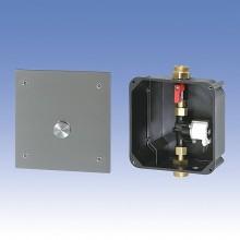 SANELA automat. ovládání sprchy SLS 01PA piezo tlačítkem pro jednu vodu 12016