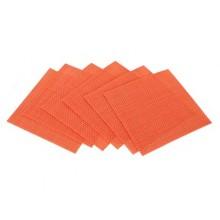 BANQUET 6ti dílná sada prostírání 10x10cm Culinaria Orange 12CGCS0001