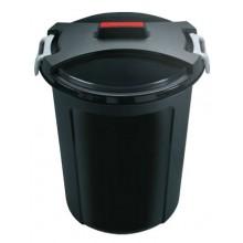 HEIDRUN Odpadkový koš, popelnice 46 l, černá 1463