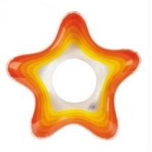 INTEX Nafukovací kruh Starfish, oranžový 58235NP