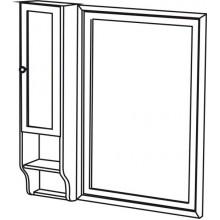 SAPHO RETRO 1688 skříňka k zrcadlu 25x115x20cm, starobílá