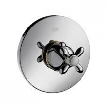 Hansgrohe AXOR CARLTON Highflow termostat pod omítku s kříž. rukojetí, chrom 17716000