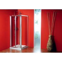 GELCO Sigma sprchové dveře dvoudílné zalamovací 80, sklo čiré SG1828