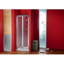 GELCO Sigma sprchové dveře dvoudílné zalamovací 80, sklo BRICK SG3848