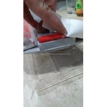 VÝPRODEJ ALCAPLAST Simple Podlahový žlab s okrajem pro perforovaný rošt RAPZ8-950M PRASKLÝ