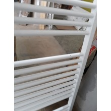 VÝPRODEJ Kermi B20-S koupelnový radiátor 1174 x 890 mm, rovný, bílá LS0101200902XXK ODŘENÉ, PROHLÁ TRUBKA