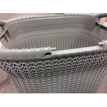 VÝPRODEJ CURVER KNIT Koš na špinavé prádlo, hnědý 57 L 03676-X59, PRASKLÝ