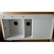 VÝPRODEJ Franke Mythos MTG 651-100/2, 1000x515 mm, granitový dřez bíla led 114.0150.018, ODŘENÝ