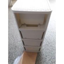 VÝPRODEJ CURVER Zásuvka 4x 14l RATTAN Style - krémová, R__06605-885 PRASKLÁ NOSNÁ ČÁST ŠUPLÍKU