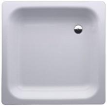 LAUFEN PLATINA Ocelová vanička čtvercová 90x90cm, bílá, 2.1501.2.000.040.1
