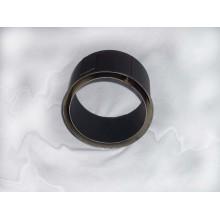 Dvoustěnná zděř kouřovodu 200mm (1,5) černá