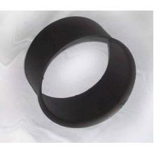 Zděř kouřovodu 160mm (1,5) černá