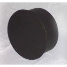 Komínová záslepka 180mm (1,5) černá