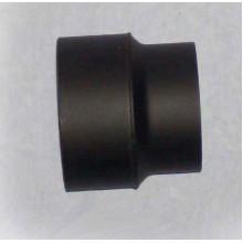 Přechodka kouřovodu pr. 200 mm na 150 mm (1,5) černá