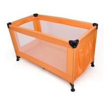 CALME Cestovní postýlka, oranžová 229432TCHBO
