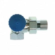 """HEIMEIER radiátorový ventil samotížný DN 15-1/2"""" úhlový, levý 2341-02.000"""