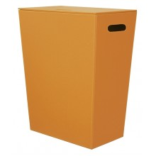 SAPHO Koh-i-noor 2462OR ECO PELLE koš na prádlo 43x26x48cm, oranžová