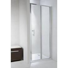 Jika CUBITO PURE sprchové dveře 900x1950 skládací transparentní sklo H2552420026681
