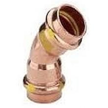 VIEGA CU Profipress plyn, oblouk 2626 22/45 345624V
