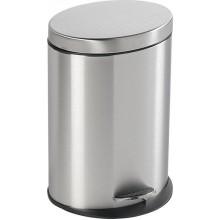 AQUALINE SIMPLE LINE odpadkový koš oválný 12l, nerez mat 27212
