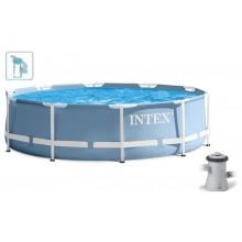 INTEX PRISM FRAME POOL SET Bazén 305 x 76 cm s kartušovou filtrací, 28702GN