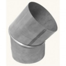Koleno nerez 2-segmentové 0-45° 180mm