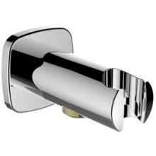 """LAUFEN Připojení sprchové hadice 1/2"""" s nástěnným držákem sprchy 3.6398.0.004.162.1"""