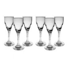 VETRO-PLUS Twist sklenice na likér, 55ml, 6ks, 3344612