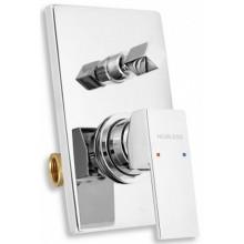 NOVASERVIS NOBLESS EDGE sprchová a vanová podomítková baterie chrom 36050R,0