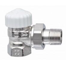 """HEIMEIER radiátorový ventil V-exact II DN 15-1/2"""" rohový, zkrácený 3715-02.000"""