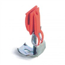 Franke příchytka 30x42 mm pro dřez červená/černá-plast/kov 37543590