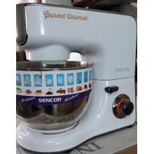 VÝPRODEJ SENCOR STM 3700WH kuchyňský Robot bílý 41005408 PO SERVISE, POUŽITÉ, FUNKČNÍ!!!!