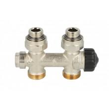 """HEIMEIER radiátorový ventil Multilux 1/2"""", přímý, vnitřní, dvoutrubková s. 3850-02.000"""