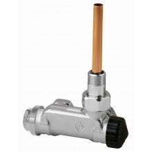 HEIMEIER radiátorový ventil E-Z rohový, dvoutrubková s. 3879-02.000