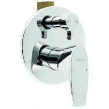 NOVASERVIS NOBLESS WAT vanová sprchová baterie s přepínačem chrom 39050R,0
