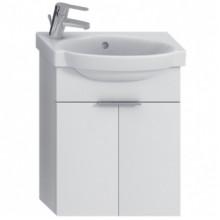 Jika TIGO skříňka s umývátkem 45cm s otvorem vlevo, se 2 dvířky bílá H4551020215001