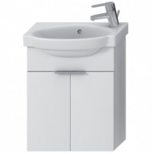 Jika TIGO skříňka s umývátkem 45cm s otvorem vpravo, se 2 dvířky bílá H4551030215001