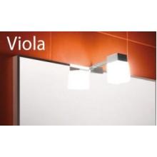 Jika ZRCADLA CLEAR Viola osvětlení pro zrcadla, s boxem pro připojení 4.9423.1.173.000.1