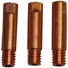 GÜDE příslušenství ke svářecímu kabelu - proudová tryska Cu 0,6mm, sada 41612