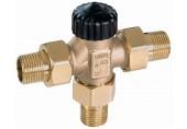 """HEIMEIER Třícestný směšovací ventil 1"""" (DN 25) bez nastavení, plošně těsnící 4170-04.000"""